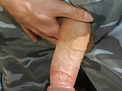 military guy tied up