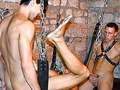 leather male bondage