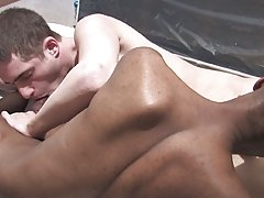 big gay interracial sex