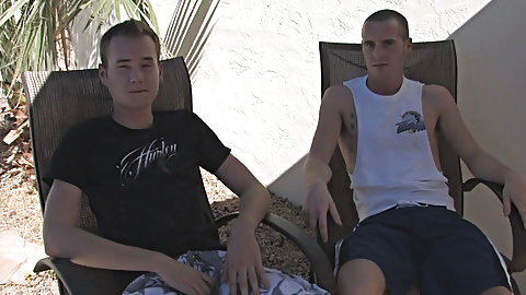 mature gay men outdoors