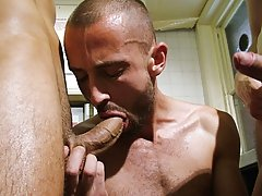 gay hunk sucking