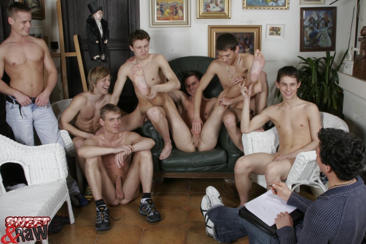 Group Male Masterbation 36