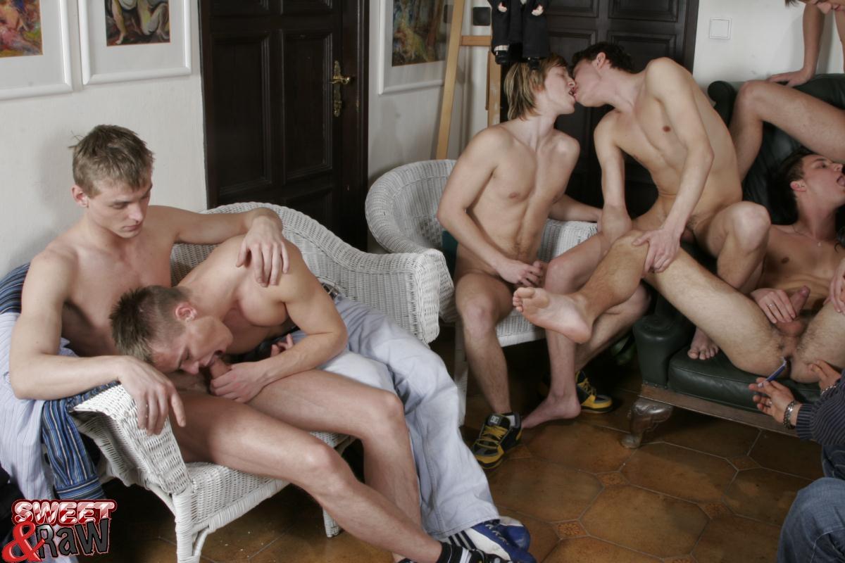 Gay orgy hotel